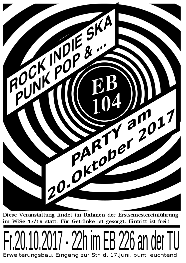 EB-Party am 20.10.2017